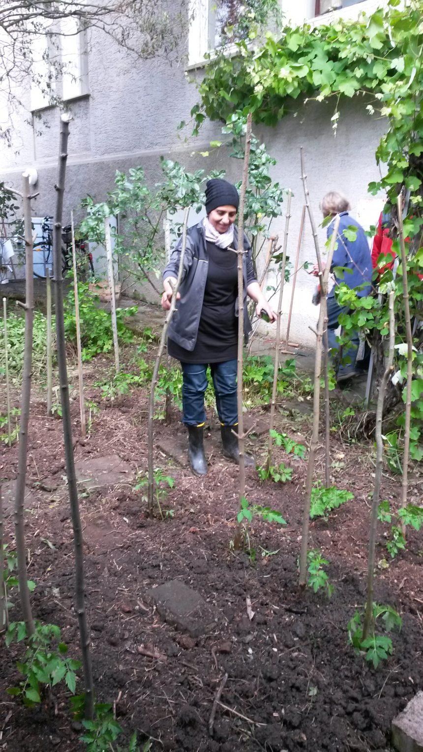 Erste Gartenarbeiten!