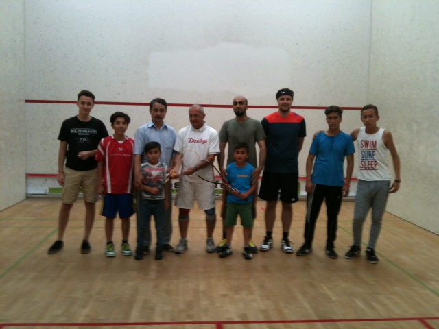 Squash bei der Sport-Insel Stuttgart e.V.
